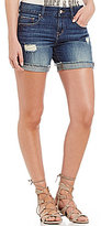 William Rast Distressed Denim Walking Shorts
