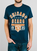 Junk Food Clothing Nfl Chicago Bears Tee-new Navy-l