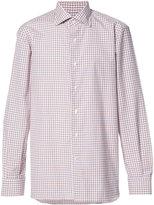 Isaia checked shirt - men - Cotton - 16