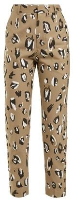 Charles Jeffrey Loverboy Leopard-print Straight-leg Trousers - Leopard