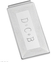 JCPenney Personalized Rhodium-Plated Money Clip