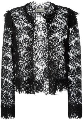 Lanvin lace cropped jacket