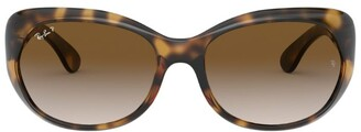 Ray-Ban RB4325 Square Sunglasses