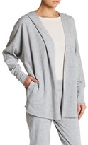 Nanette Lepore Beaded French Terry Cardigan