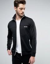BOSS Black By Hugo Zip Thru Sweat Top With Logo