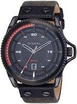 Diesel Men's DZ1728 Rollcage Analog Display Analog Quartz Black Watch