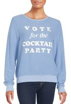 Wildfox Couture Party Slogan Sweater