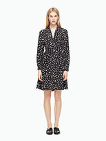 Kate Spade Blot dot v-neck dress