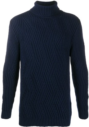 Etro Chunky Roll Neck Jumper