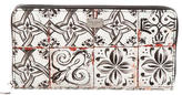 Dolce & Gabbana Printed Long Wallet w/ Tags
