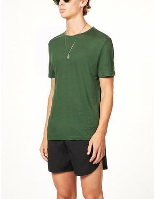 Derek Rose Jordan linen T-shirt