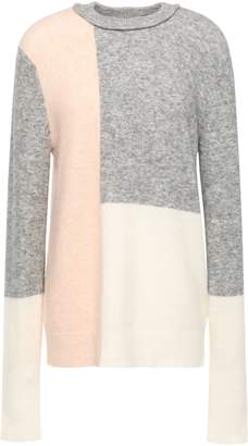 3.1 Phillip Lim Color-block Knitted Sweater