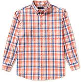 Roundtree & Yorke Casuals Long-Sleeve Multi Gingham Sportshirt