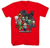 Minecraft Party Boys T-Shirt (, S 6/7)