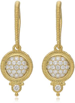 Judith Ripka Juliette 14K 0.35 Ct. Tw. Diamond Drop Earrings