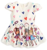 Halabaloo Infant Girl's Fashion Print Dress