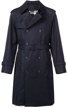 MACKINTOSH Edinburgh cotton trench coat
