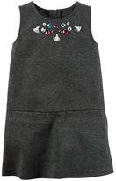 Carter's Embellished Ponte Shift Dress
