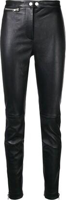 3.1 Phillip Lim Leather Moto Stretch Legging