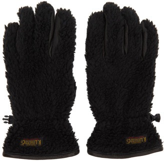 Polo Ralph Lauren Black Sherpa Outdoor Touch Gloves