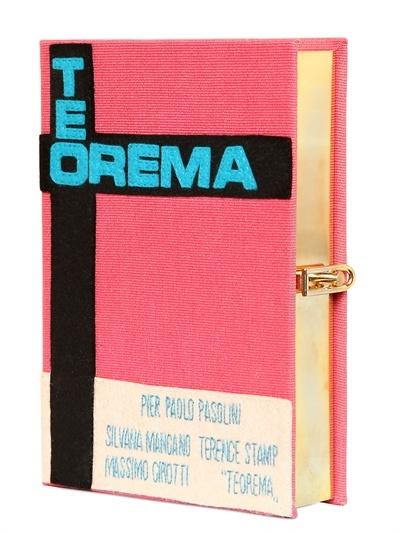 Olympia Le-Tan - Teorema Book Clutch