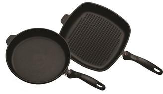 Swiss Diamond XD Set Fry Pan and Grill Pan 2 Piece
