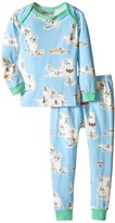 BedHead Kids Long Sleeve Long Bottom Pajama Set (Infant)