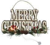 """St. Nicholas Square® """"Merry Christmas"""" LED Wall Decor"""