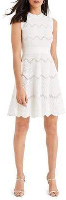 Damsel in a Dress Filicia Texture Knit Dress