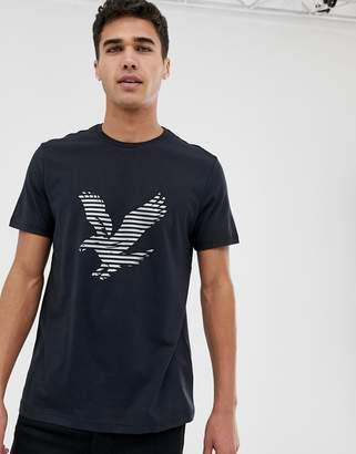 Lyle & Scott big logo t-shirt in black