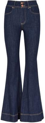 Alice + Olivia Alice & Olivia Jeans Beautiful Bell Bottom blue jeans