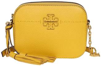 Tory Burch Shoulder Strap Mcgraw Bag Room In Leather Yellow