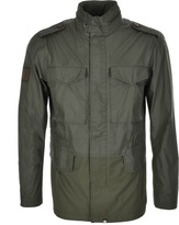 Pretty Green Jetson Jacket Khaki