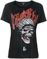 R 13 skull print T-shirt