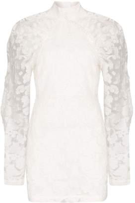 Rotate Kim high neck floral dress
