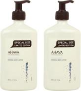 Ahava Double Mineral Body Lotion Duo Set