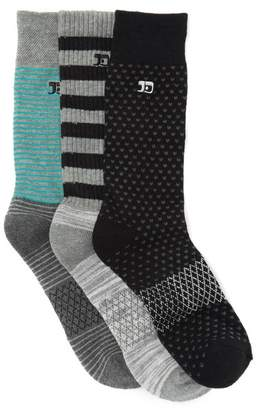 Joe's Jeans Performance Crew Socks - Pack of 3