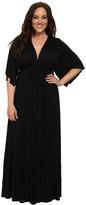 Rachel Pally Plus Size Long Caftan White Label