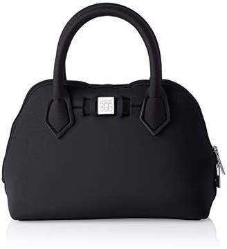 save my bag Women's 10520N-LY-TU Top-Handle Bag Black
