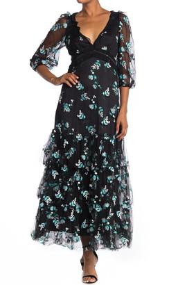 Diane von Furstenberg Marleigh Floral Maxi Dress