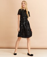 Brooks Brothers Sequined Lace Dress