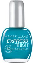Maybelline New York Express Finish 50 Second Nail Color, Timely Turquoise 899, 0.5 Fluid Ounce