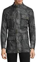 Belstaff Cotton Roadmaster Printed Coat