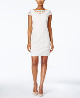 Jessica Howard Petite Embellished Lace Dress