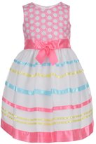 "Bonnie Jean Little Girls' ""Embellished Organza"" Dress"