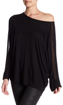 Haute Hippie Dolman Long Sleeve Shirt
