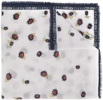 Kenzo floral print scarf
