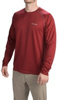 Columbia Peak Racer Omni-Wick® Shirt - Long Sleeve (For Men)