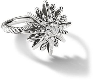 David Yurman Starburst Small Ring with Diamonds