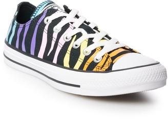 Converse Women's Chuck Taylor All Star Zebra OX Low Top Sneakers